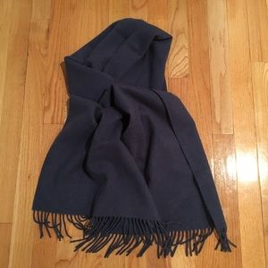 Blue / purple cashmere scarf by Ralph Lauren
